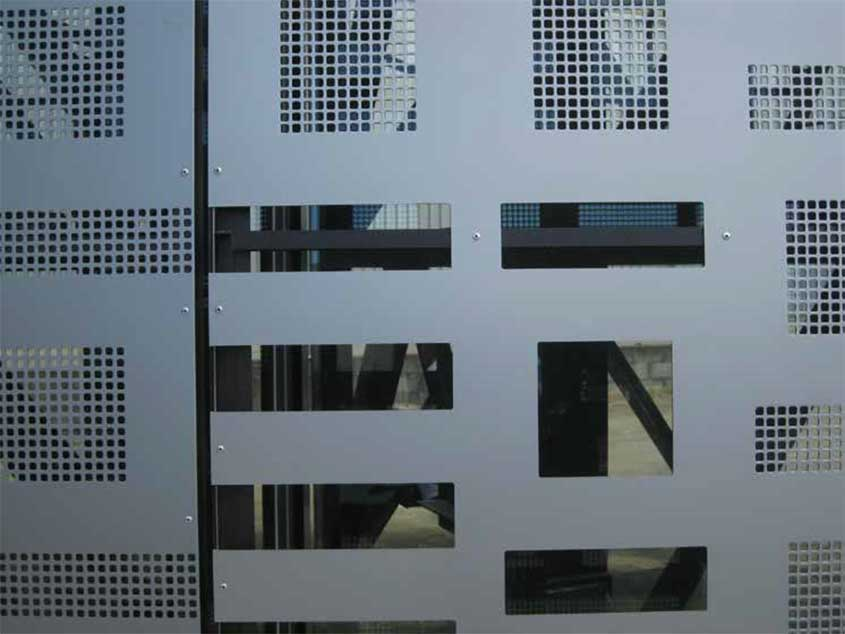 Perforated Screen 03