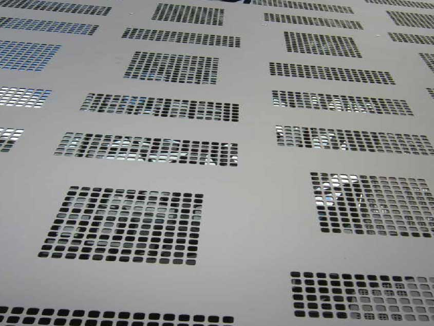 Perforated Screen 06