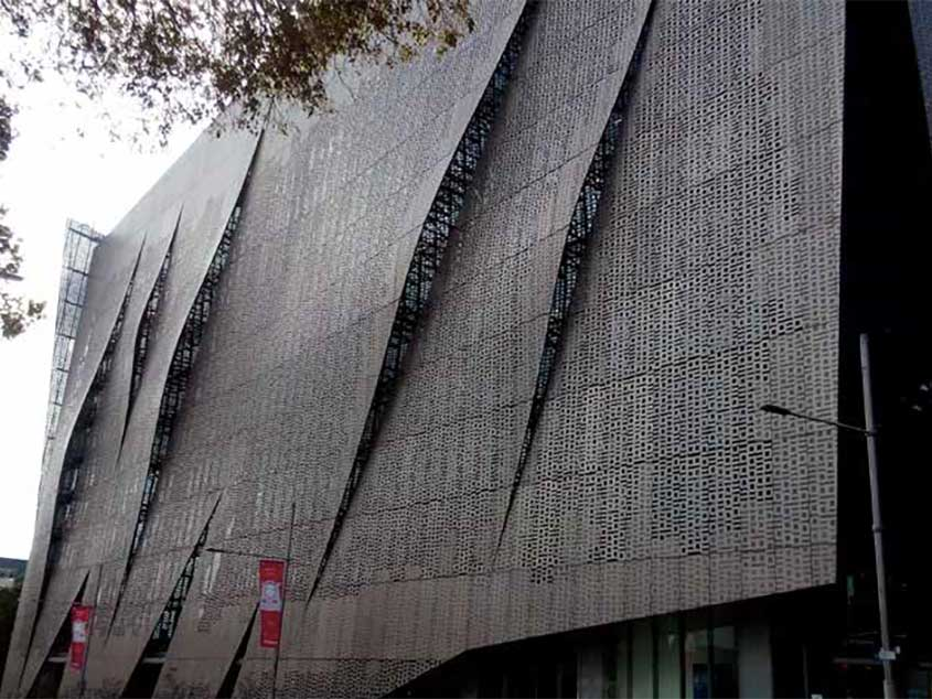 Perforated Screen 09