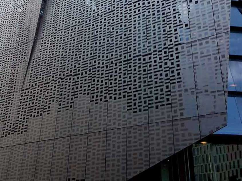 Perforated Screen 10